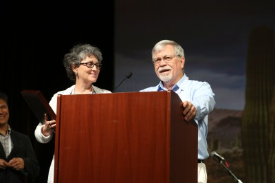 Johnsons, Prudeks Honored for Missionary Service