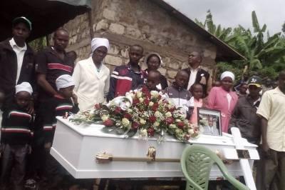 Njaramba Laid to Rest in Kenya