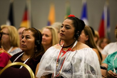 Opening Triennial Service Highlights Importance of Women's Ministry