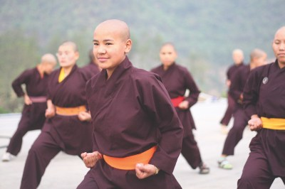 Five for Friday: Cycling Kung Fu Nuns, Get Smart, First Female NFL player?