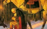 George Washington Praying Nest to his Horse