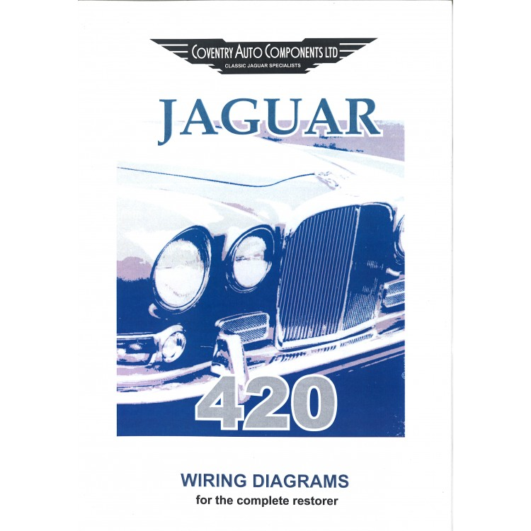 420 jaguar wiring diagrams book - jaguar 420 wiring diagram