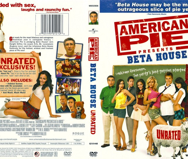 American Pie Presents Beta House Unrated 2007 Front Back