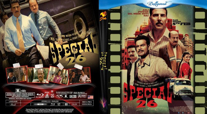 max1363460808 frontback cover - Special 26 2013 Hindi DVDRip 480p 350mb ESub