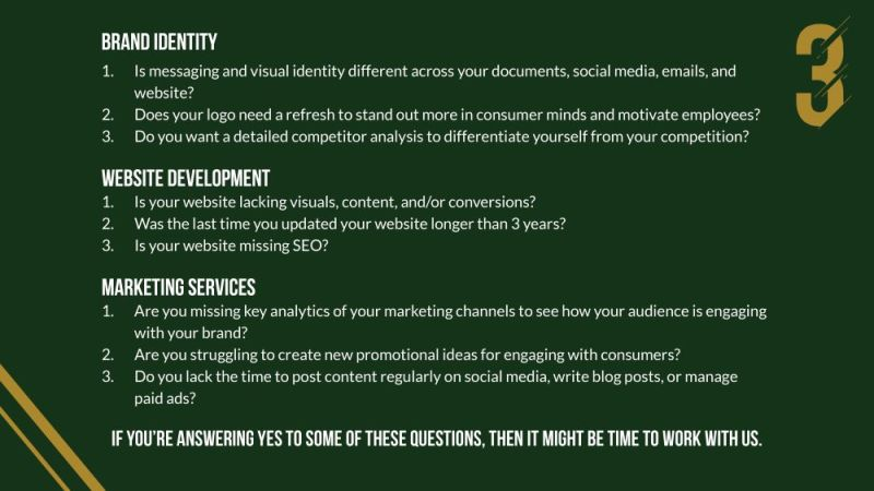 hiring a marketing agency questions