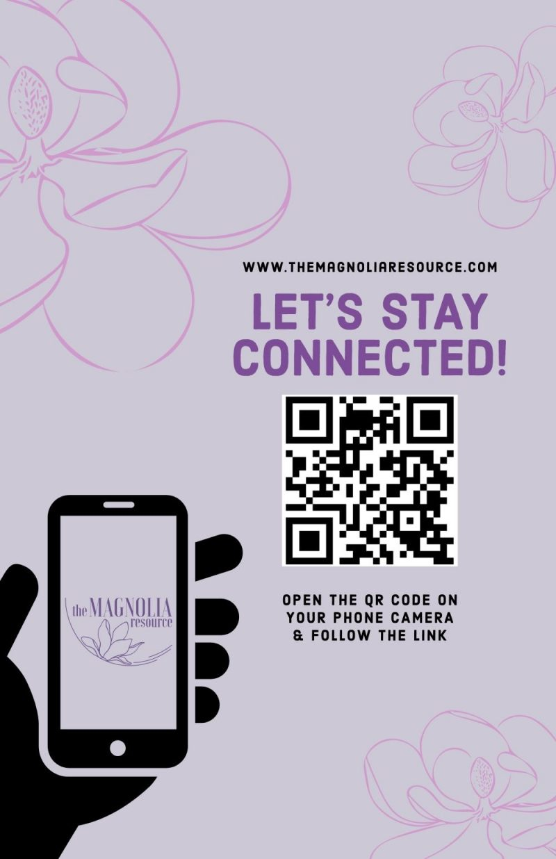 Flyer with QR code