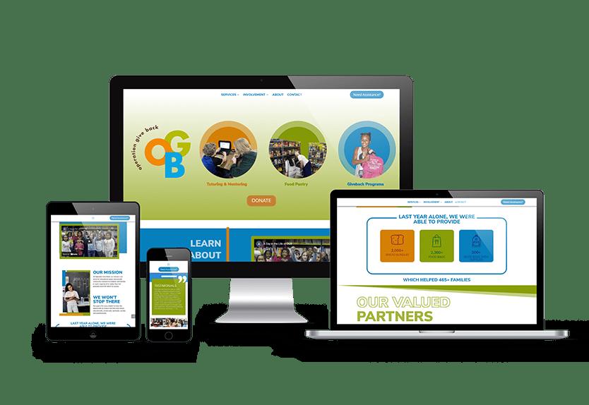 OGB Web Design Service Example