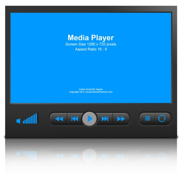 Media Player Device Mock Cover Action Set