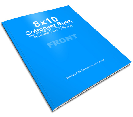 8x10 book mock up