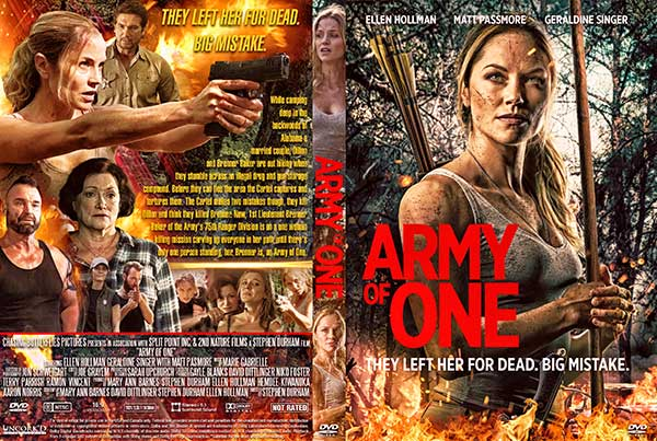 Army of One (2021) DVD Cover