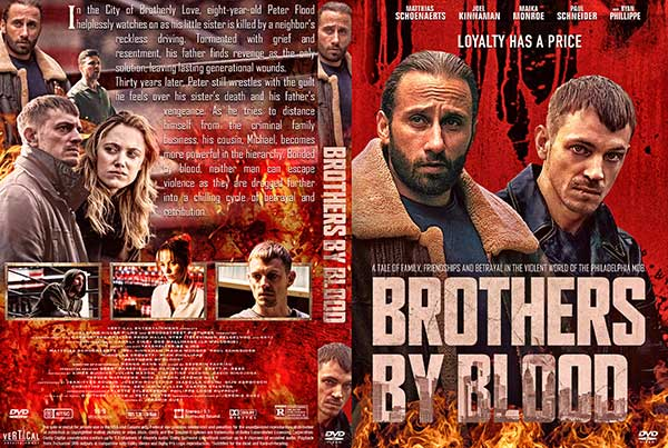 Brothers by Blood (2021) DVD Cover