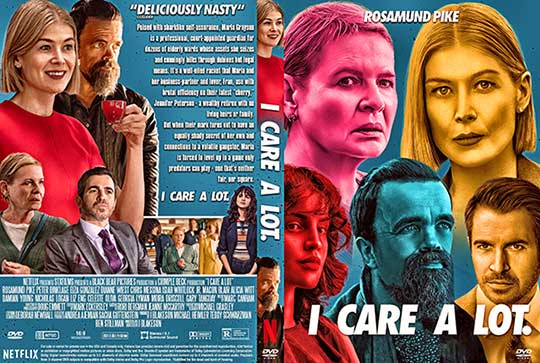 I Care a Lot (2021) DVD Cover