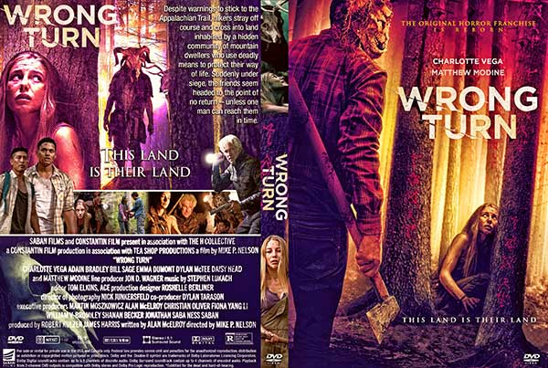 Wrong Turn (2021) DVD Cover