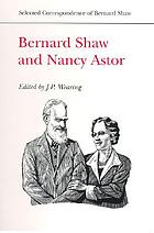 Bernard Shaw and Nancy Astor