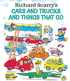 Cover Art for Richard Scarry's Cars and Trucks and Things That Go