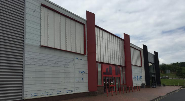 Kingspan Curevwall Cladding Installation In Dudley