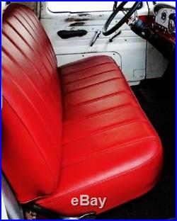1953 1956 Ford Truck Custom Upholstery Seat Cover Bench