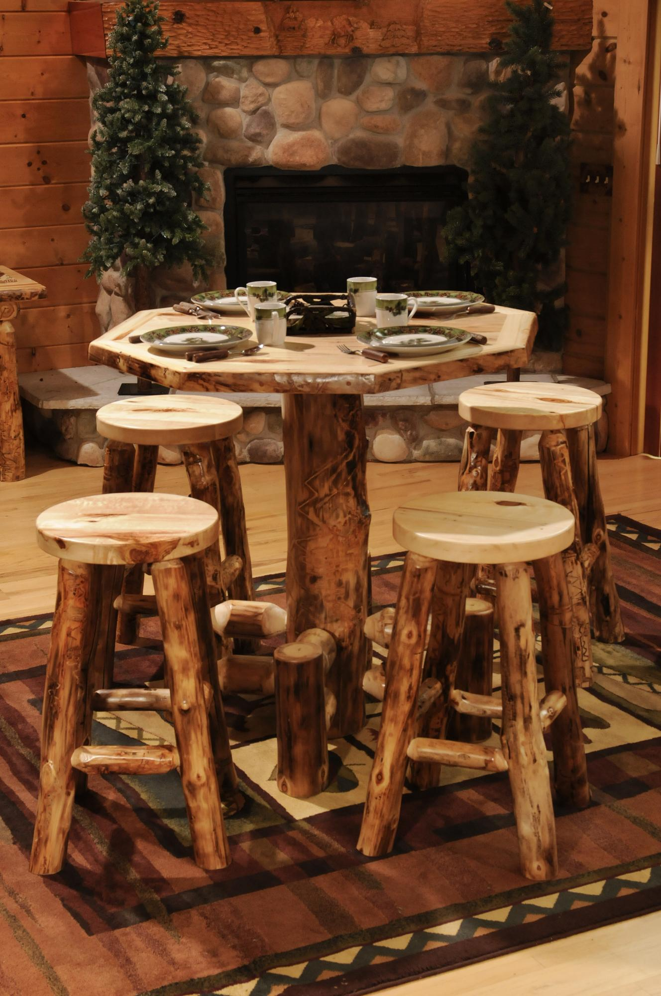 Amish Table And Chairs