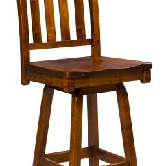 Bar Stool Baby High Chair Open Back Alberta Dining Amish Furniture Store Mankato Mn