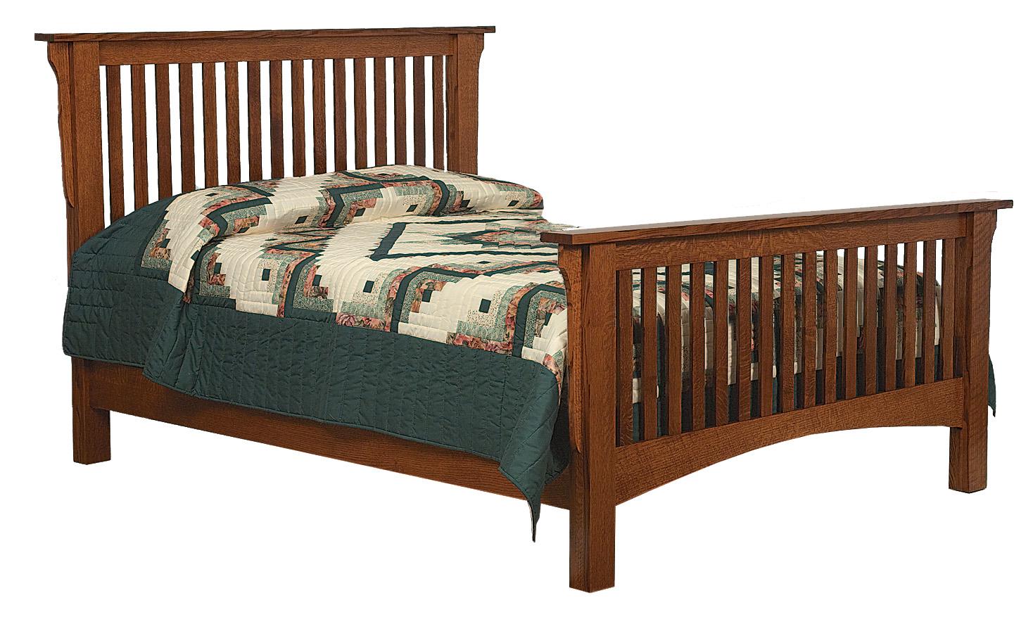 Mission Bed  Amish Furniture Store  Mankato MN