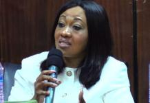 Mrs. Jean Mensa ( Chairperson of the Electoral Commission of Ghana)