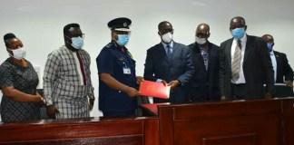 Police Sign Memorandum of Understanding with UCC to train Investigators