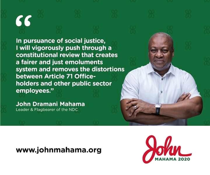 John Dramani Mahama's Campaign Promises
