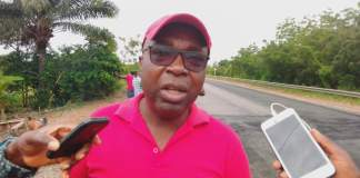 District Chief Executive (DCE) for the South Tongu, Hon. Emmanuel Louis Agama