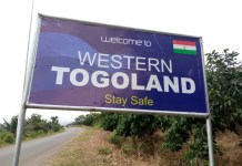 Western Togoland Signpost