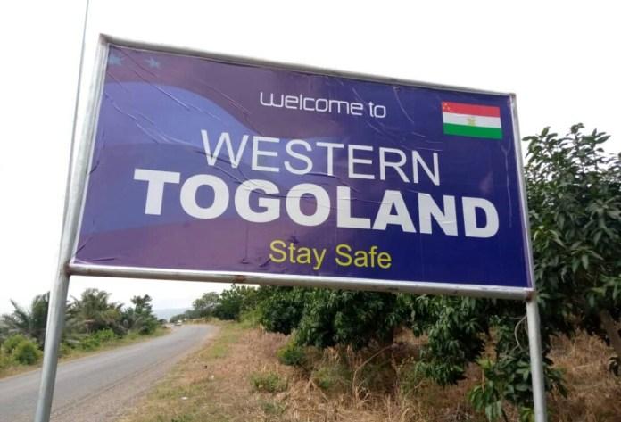 Western Togoland Signpost