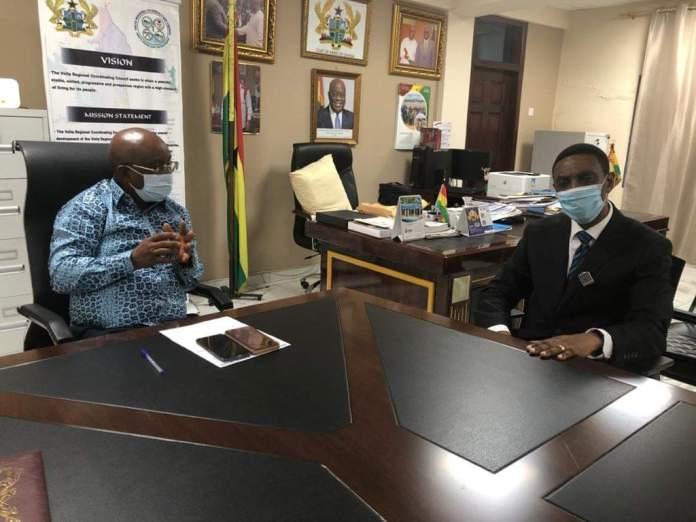 Dr. Archibald Letsa and Rev. Dr. Kwame Bansah