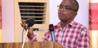 Chairman of the National Media Commission (NMC), Mr. Kwesi Gyan-Appenteng
