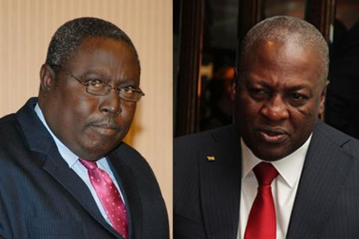 Martin Amidu and John Dramani Mahama