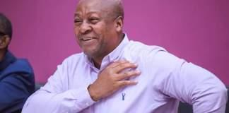 NDC's Flagbearer, John Dramani Mahama