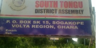 South Tongu District Assembly signpost