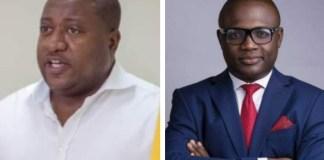 Mr. Henry Nana Boakye (Nana-B) and Alfred Ocansey