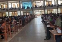 Photo of Teachers writing examination