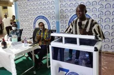 Phanuel Donkor Kadey, the District Chief Executive (DCE) of Adaklu District Assembly