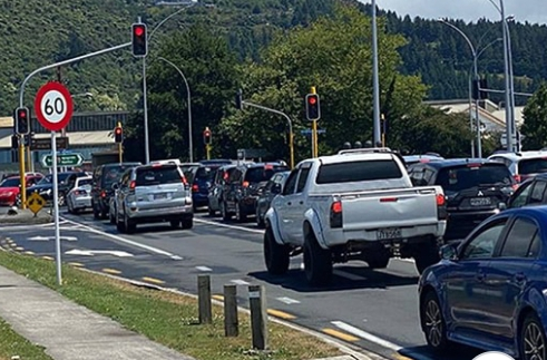 Vehicles in traffic