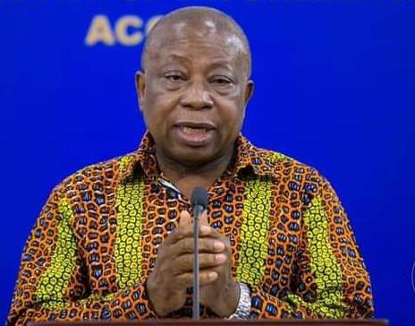 Health Minister Hon. Kwaku Agyeman-Manu