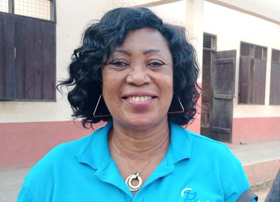 District Director of Education Evelyn Araba Zentey (Ms.)