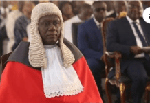 Chief Justice Kwasi Anin Yeboah
