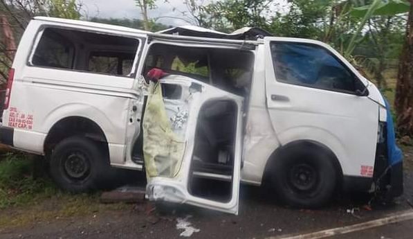 This accident vehicle is not the vehicle that knocks the woman to death