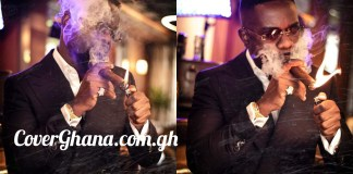 CSOs chase Sarkodie for Posting pictures of himself Smoking
