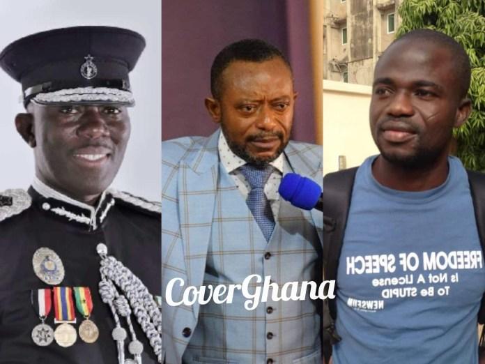 IGP , Isaac Owusu Bempah and Manasseh Azure Awuni