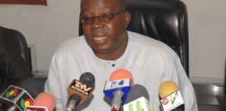 NAGRAT President Mr. Eric Agbe-Carbonu
