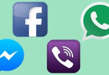 Facebook and whatsapp not working or offline