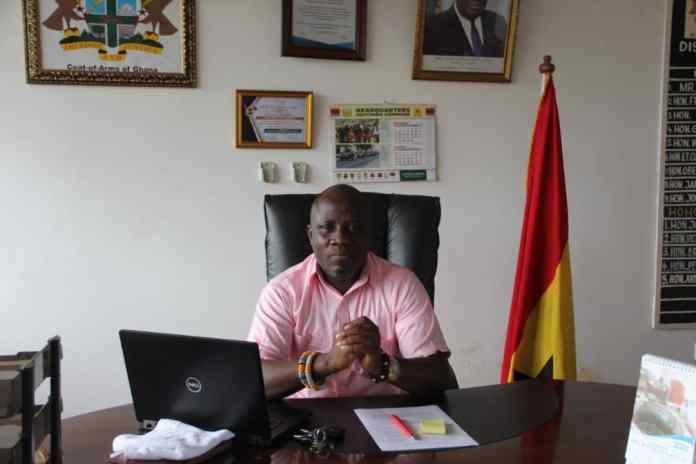 Mr. Daniel Noble Awume, Hohoe MCE