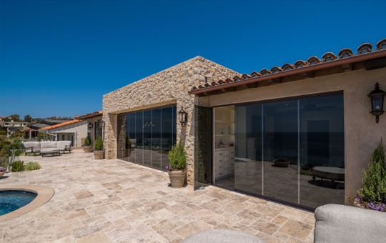 weatherproof frameless windows