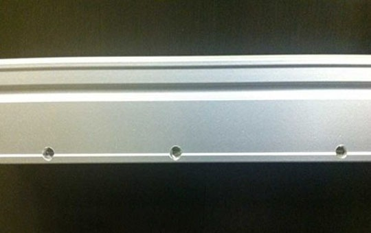 weepholes for frameless glass system